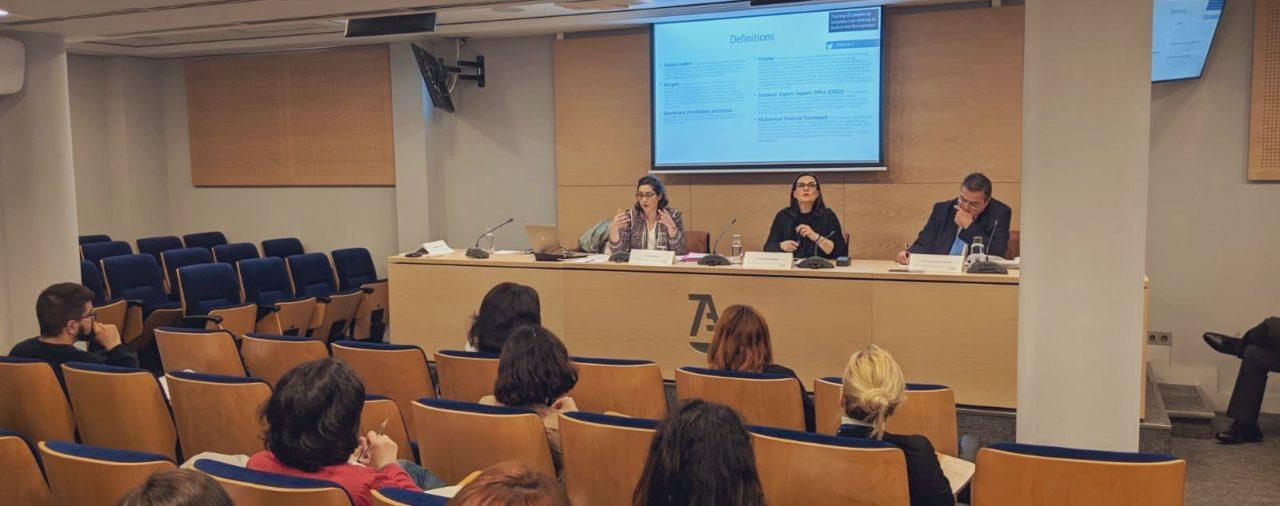 Intervention dans le cadre du projet TRALIM 2 à Madrid le 22 avril 2019